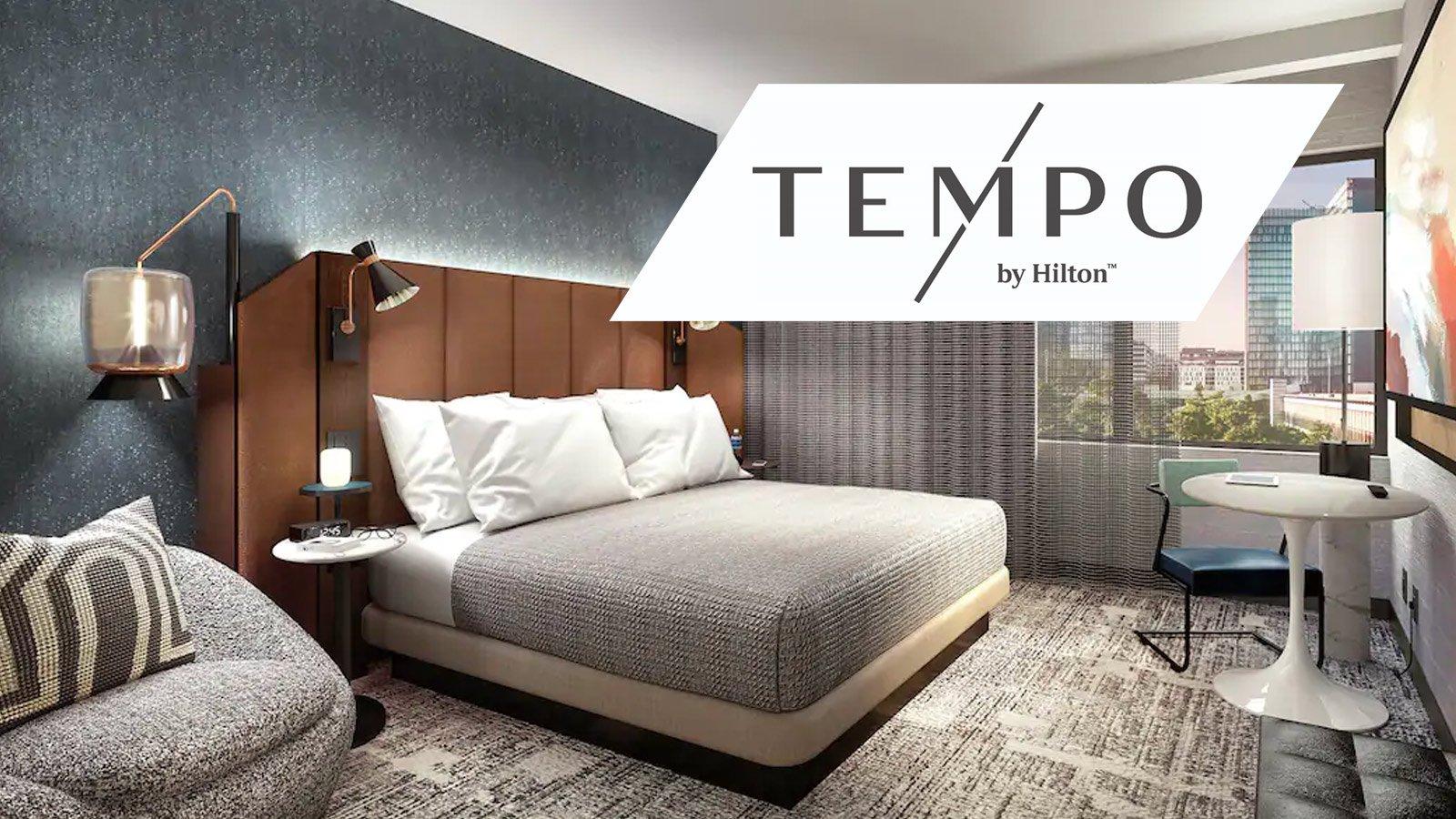 Tempo Hilton hotel room